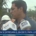 Trujillo: Obra se entregará el día que el Papa llegue al Perú