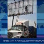 Chiclayo: Obrero salva de morir luego de recibir descarga eléctrica