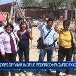 Piura: Padres de familia exigen se respete expediente técnico
