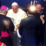 Papa Francisco llegó a la ciudad de la eterna primavera