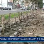 Trujillo: Papamóvil cruzará pistas arregladas a último momento