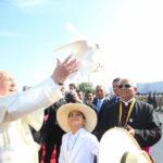 Así fue la llegada del Papa Francisco a Trujillo