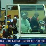 Papa Francisco recorrió calles de Buenos Aires