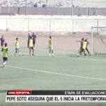 Pepe Soto asegura que el 5 se inicia la pretemporada