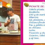 Rico y baratito: Nuestro querido Marcelo Olguin  nos preparó un delicioso picante de mariscos
