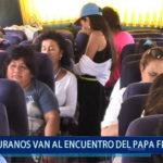 Piura: Piuranos van al encuentro del Papa Francisco