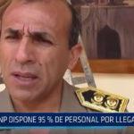 Trujillo: PNP dispone del 95% de personal por llegada Papal