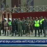 Trujillo: PNP no baja la guardia ante posible atentado terrorista