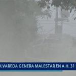Piura: Polvareda y tránsito pesado genera malestar en vecinos de 31 de enero