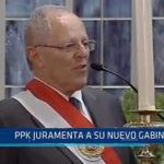 Lima: PPK juramenta a su nuevo gabinete