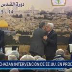 Palestina: Rechazan intervención de EE.UU en proceso de paz