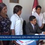 Trujillo: Renuncias masivas son una medida apresurada