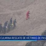 Lima: Culmina rescate de víctimas de Pasamayo