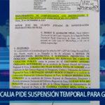Piura: Fiscalía  pide suspensión temporal para Gobernador Regional