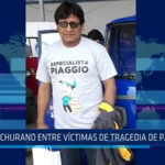 Piura: Sechurano entre víctimas de tragedia de Pasamayo