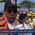 La seguridad es garantizada por visita del Papa en Trujillo