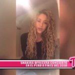 Internacionales: Shakira ofrecerá concierto en el Perú a fines del 2018