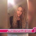 Internacional: Shakira reaparece tras revelar el estado de sus cuerdas vocales