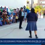 Chiclayo: Con sociodramas promueven prevención de la violencia