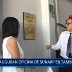 Piura: Ministro de Justicia inaugura oficina de Sunarp en Tambogrande
