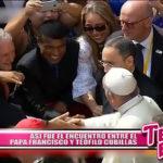 Nacional: Así fue el encuentro entre el Papa Francisco y Teófilo Cubillas