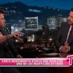 Internacional: Chris Hemsworth reveló qué hizo con uno de los martillos de Thor