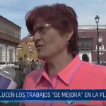 Trujillo: Así lucen los trabajos de mejora en la Plaza Mayor