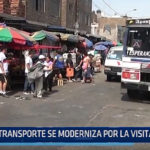 Trujillo: Transporte se moderniza por la visita del Papa