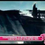 """Internacionales: """"Transformers, el último caballero"""" lidera lista de lo peor del 2017"""