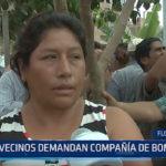 Florencia de Mora: Vecinos demandan compañia de bomberos