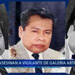 Piura: Asesinan a vigilante de galería artesanal