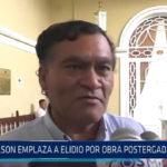 Trujillo: Wilson emplaza a Elidio por obra postergada de colegio