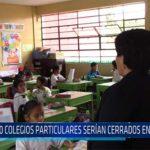 Chiclayo: 120 colegios particulares serían cerrados tras inspección
