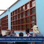 Chiclayo: MINEDU gastara 80 millones de soles para Lambayeque
