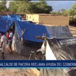 Chiclayo: Alcalde de Pacora reclama ayuda a Gobierno Central