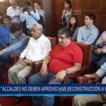 "Chiclayo: ""Alcaldes no deben aprovechar reconstrucción a favor suyo"""