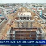 Piura: By pass en Av. Sanchez Cerro lleva un avance de 45%