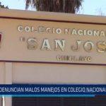 Chiclayo. Denuncian malos manejos en colegio nacional San José