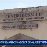 Piura: Confirman dos casos de Dengue en Tambogrande