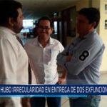 Chiclayo: No hubo irregularidad en entrega de dos ex funcionarios