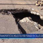Chiclayo: Transportistas molestos por forado en calles de Chiclayo