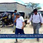 Chiclayo: Joven mototaxista desaparece en el distrito de Reque