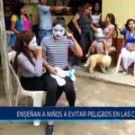 CHICLAYO: ENSEÑAN A NIÑOS A EVITAR PELIGROS EN LAS CALLES