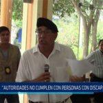 Chiclayo: Autoridades no cumplen con personas con discapacidad