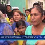 Chiclayo: Pobladores reclaman acción sobre agua con arsénico