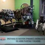 Spotmini de Boston Dynamics ahora es capaz de abrir puertas