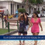 Chiclayo: Ellas quieren vivir sin acoso sexual en las calles