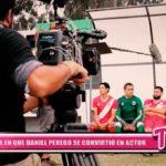 Nacional: El día en que Daniel Peredo se convirtió en actor
