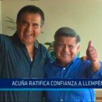 Trujillo: Cesar Acuña ratifica confianza a Manuel Llempén