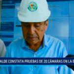 Alcalde constata pruebas de 20 cámaras en La Esperanza